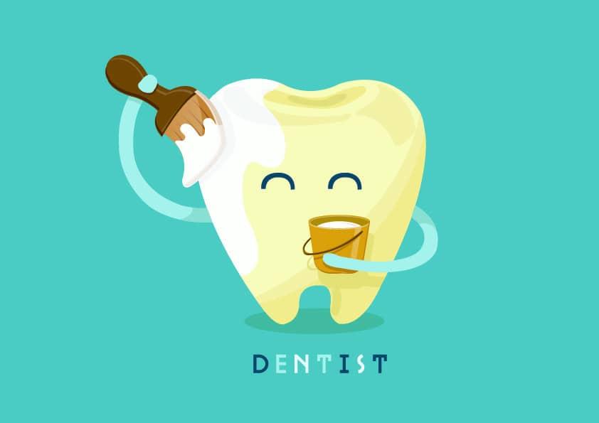 ฟันสามารถปรับเปลี่ยนสีได้หลายวิธี