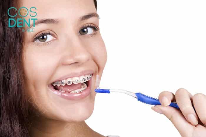 เทคนิคให้คนจัดฟันอยู่ควรแปรงฟันอย่างไร