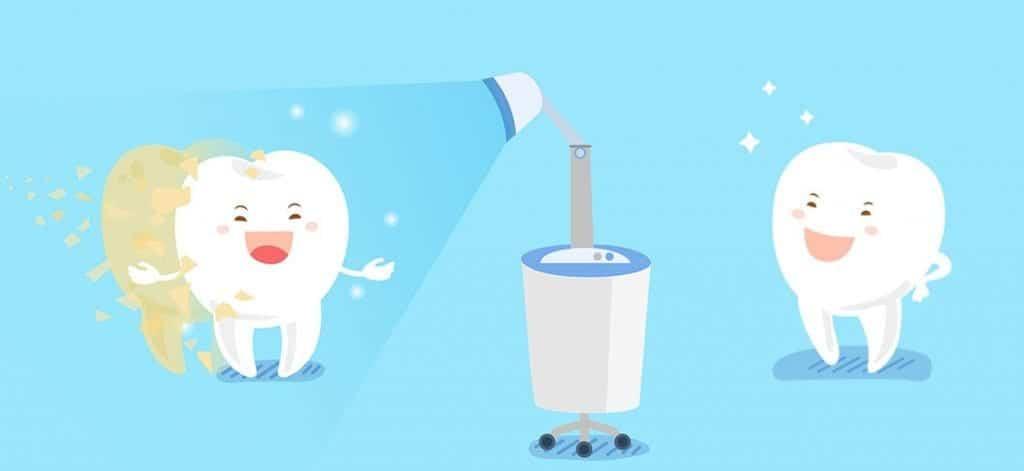 ขั้นตอนการฟอกสีฟัน