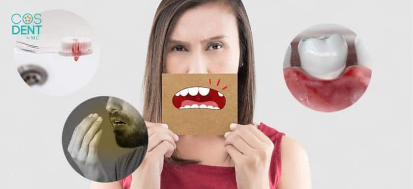 โรคเหงือก ทำให้เกิดกลิ่นปาก